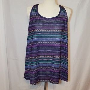 🏃‍♀️Old Navy🏃‍♀️ Multicolored Racerback Tank Top